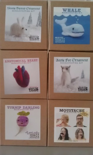 Needlefelting kits